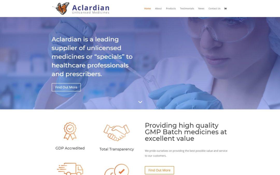 A Shiny & New Website for Aclardian